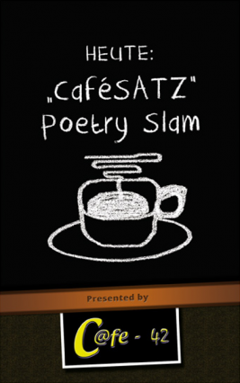 CaféSATZ Poetry Slam